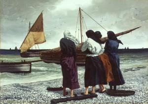 Le purtannare (quadro di Rodolfo Gentili da Macerata)