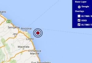 Terremoto nelle Marche (meteo.it)