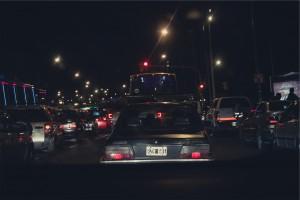 Traffico automobilistico: causa di polveri sottili