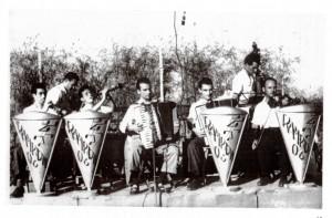 L'orchestra RAMPIONI 06, foto da Potentia n. 4 (CSP) - Bruno quello in piedi - 27.01.'16