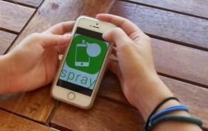 L'app Spray