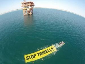 Civitanova Marche, Italia, in azione contro le trivelle in Adriatico (ANSA.it)
