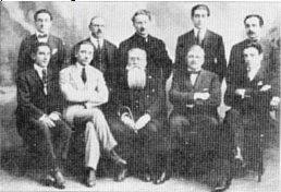 Anni '20 - Governo prov.le di Mar del Plata - Bronzini secondo seduto da sx (foto Wikipedia)