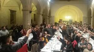Cena a Offida contro le trivelle (ANSA)