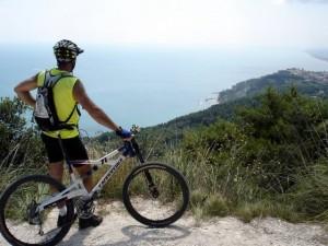 Sul Conero in bicicletta