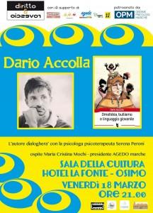"""Osimo, """"Omofobia, bullismo e linguaggio giovanile"""": incontro con Dario Accolla"""