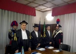 Giustizia: inaugurazione dell'Anno Giudiziario della Corte dei Conti delle Marche. (ANSA)