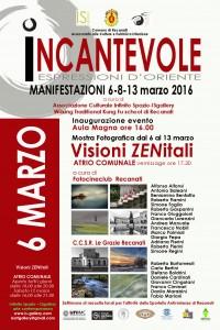 Recanati, mostra fotografica Visioni ZENitali