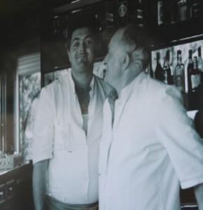 Ferruccio e il figlio Romeo (foto nonnoferruccio.it)