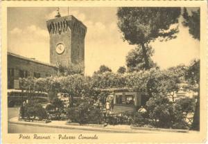 Il bar Ferruccio, anni '50 (foto collezione Mario Matassini)
