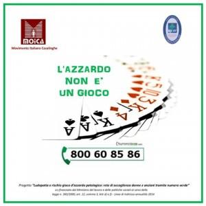 Numero verde MOICA 800.60.85.86