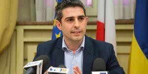 Il sindaco di Parma Federico Pizzarotti (ANSA/US/COMUNE DI PARMA)