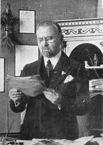 Giovanni Marinelli, segretario naz.le amministratovo del PNF