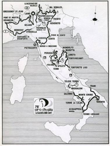 Giro d'Italia 1995 - sito bikeraceinfo.com