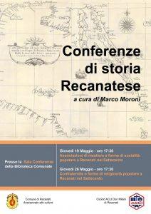 Locandina - Conferenze Storia Recanatese (1)