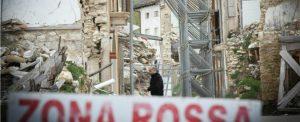 Terremoto L'Aquila (foto LaPresse/Manuel Romano)