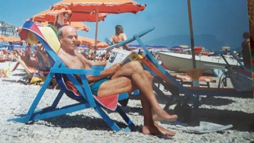 Gusti' in versione estiva al Porto - foto famiglia Castellani