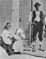 Pellegrini ciociari a Loreto - Rivista Marchigiana Illustrata, agosto 1906.