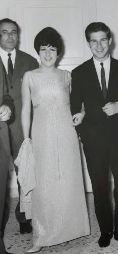 Foto famiglia Castellani - Augusto con Orietta Berti e Bruno Filippini