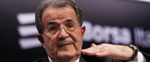 nella foto Romano Prodi- Internet