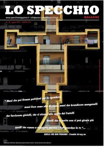 Copertina dell'ultimo numero dello Specchio Magazine in edicola