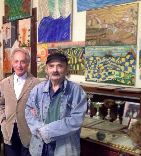 1-da sinistra- -Dott. Valentino Lorenzetti e Tobia Cippitello - Montelupone -ott. 2017
