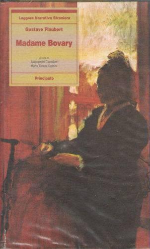 Madame Bovary copertina del romanzo