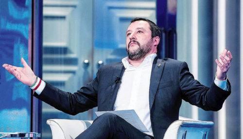 Il segretario nazionale della Lega Nord, Matteo Salvini, fonte Il Fatto