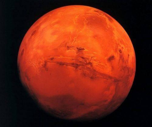 Marte. Fonte Internet