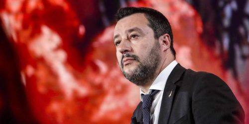 "Italian Deputy Premier and Interior Minister, Matteo Salvini, attends the Raidue Italian program ""Povera Patria"", in Rome, Italy, 24 January 2019. ANSA/GIUSEPPE LAMI"