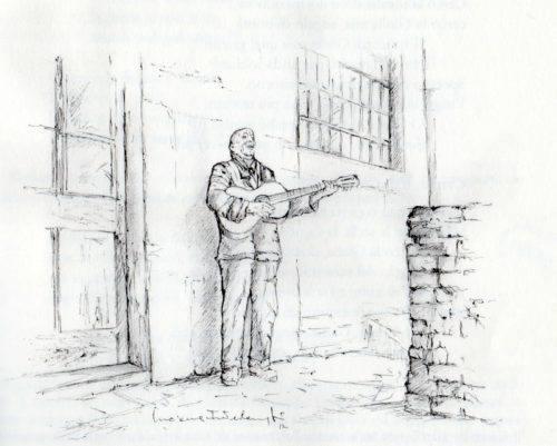 1-Umberto Feliziani immaginato da LUCIANA INTERLENGHI