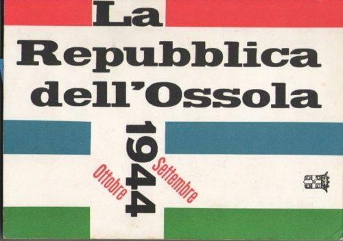 Copertina del libro Repubblica dell'Ossola