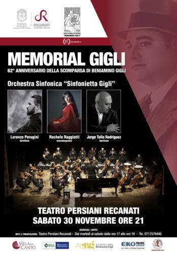 MANIFESTO MEMORIAL GIGLI 2019