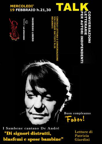 Buon compleanno, Faber(1)