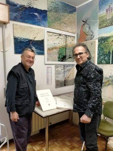 da sin. Carlo Iacomucci e Mario Monachesi