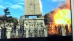 Attentato a Istanbul, momento dell'esplosione